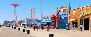 Coney Island a New York