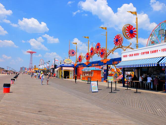 Coney Island a New York - Lungomare