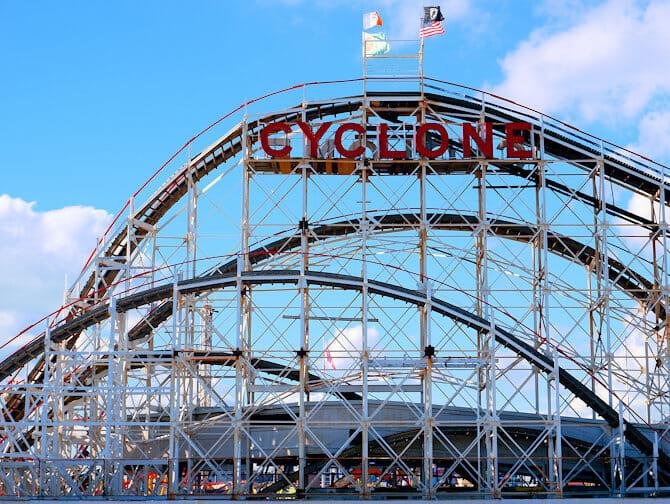 Coney Island a New York - Luna Park