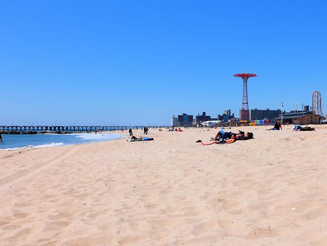 Coney Island a New York - Spiaggia