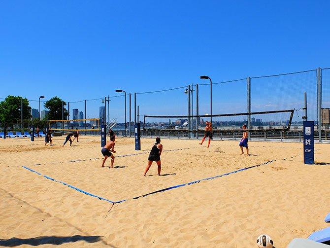 TriBeCa a New York - Beach Volley