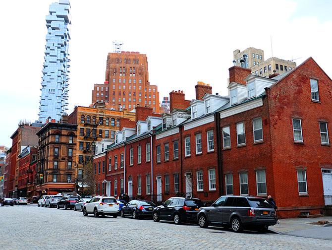 TriBeCa a New York - Harrison Street