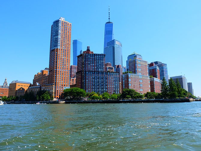 TriBeCa a New York - Lungofiume
