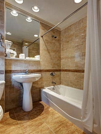 Wellington Hotel in NYC - Bagno