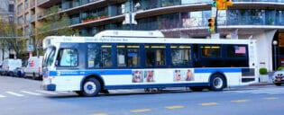 Bus a New York
