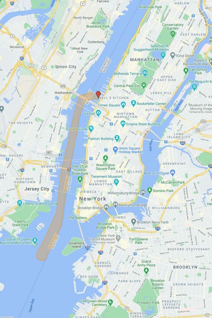 Circle Line Crociera The Beast a New York - Itinerario