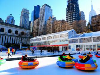 Pattinare a New York - Bryant Park