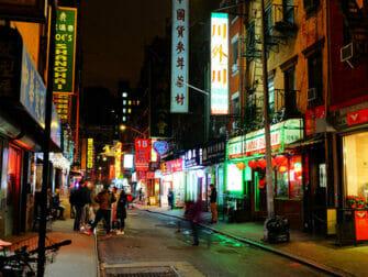 Chinatown a New York Edifici