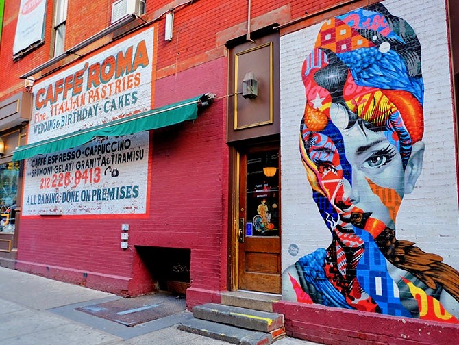 Little Italy a New York - Murales