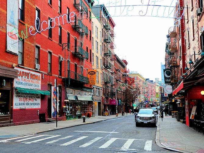 Little Italy a New York - Benvenuto