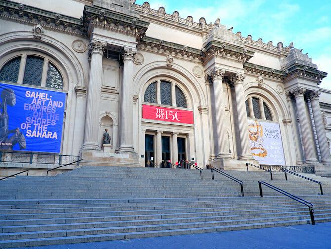 Upper East Side a New York Metropolitan Museum