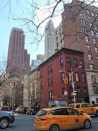 Upper East Side a New York Taxi su Lexington Ave