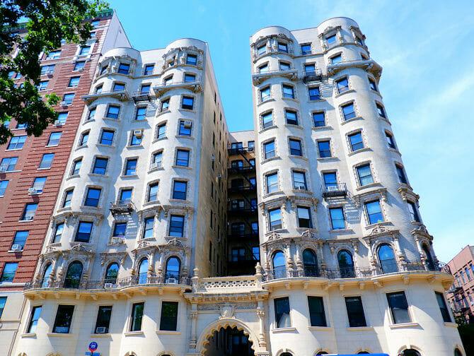 Upper West Side a New York Pietra arenaria