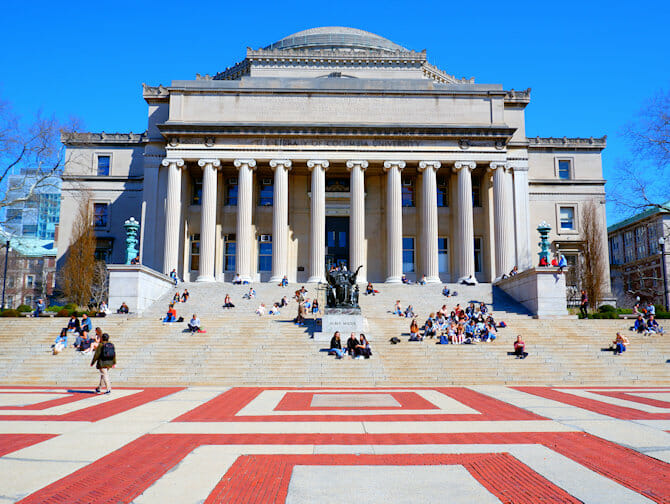 Upper West Side a New York Columbia University