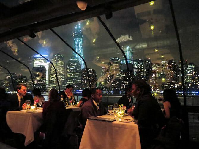 Bateaux crociera con cena a New York - Gente