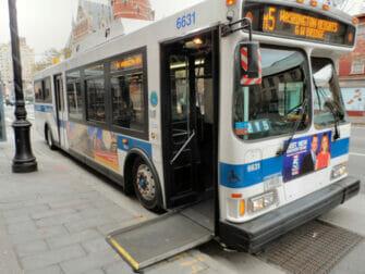 Strutture per persone disabili a New York - Autobus