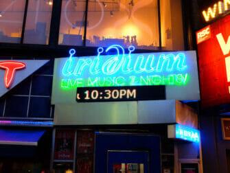 Jazz in New York Iridium