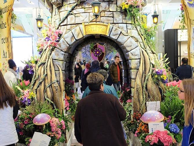Macy's a New York - Decorazioni floreali