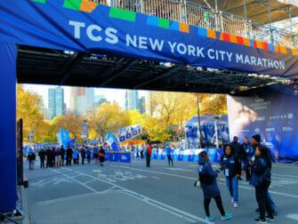 Maratona di New York - Traguardo