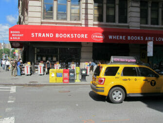 Strand Bookstore in NYC