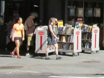 Strand Bookstore in New York Libri