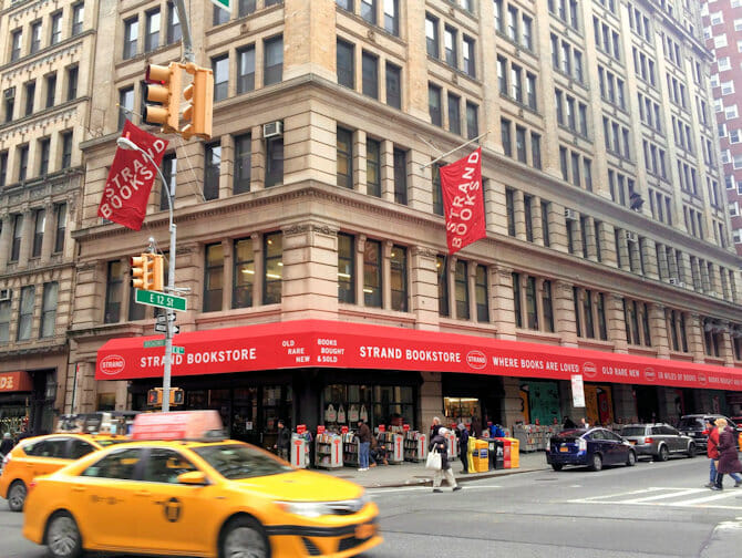 Strand Bookstore in New York
