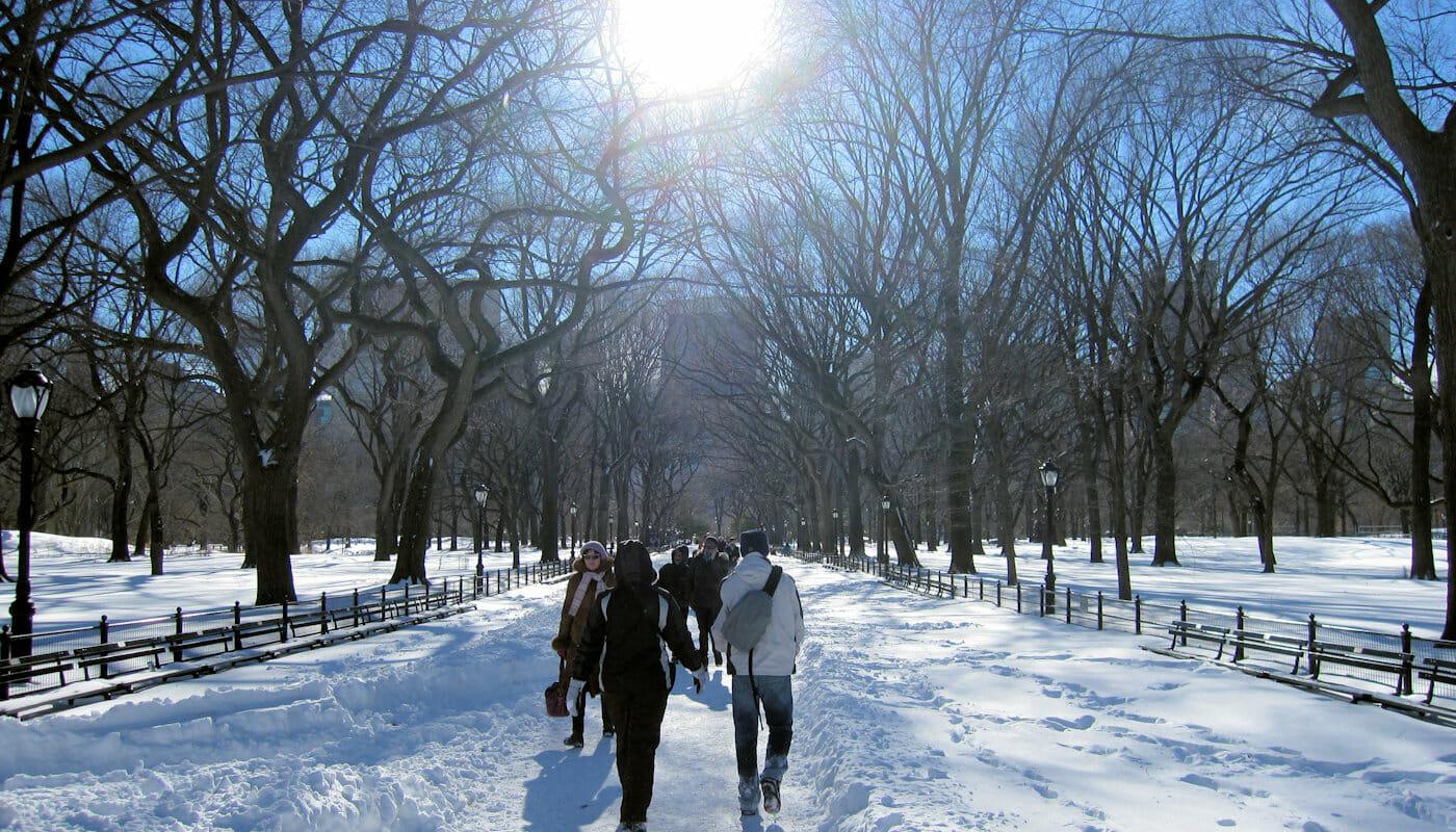 Il tempo a New York - Inverno