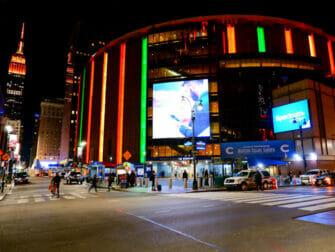 Madison Square Garden a New York - Esterno