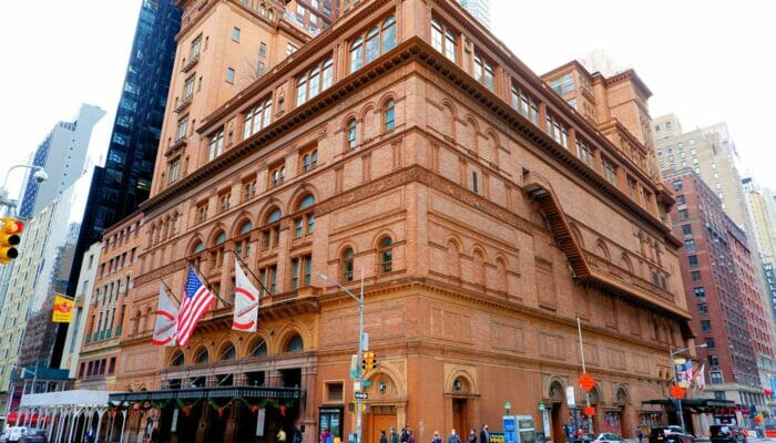 Carnegie Hall a New York - Concert Hall