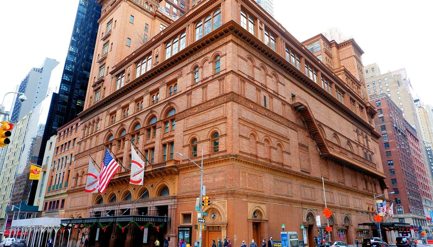Carnegie Hall a New York - Concert Hall