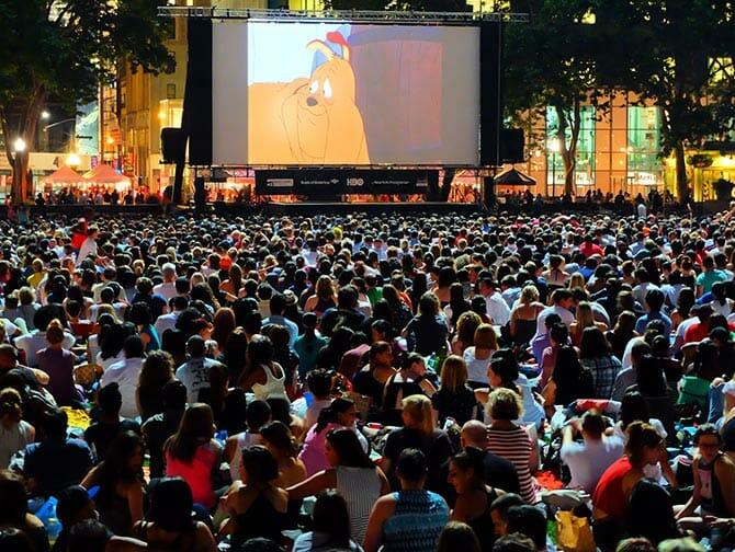 Film festival gratuito in Bryant Park