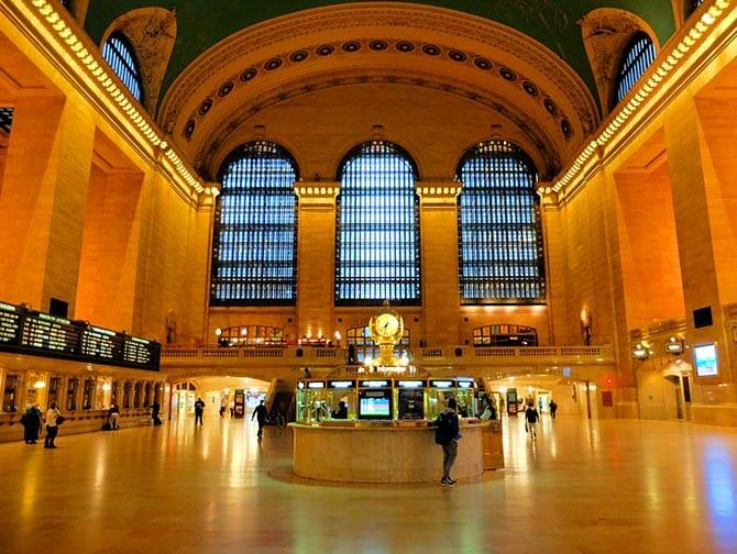 La stazione Grand Central di New York   Orologio