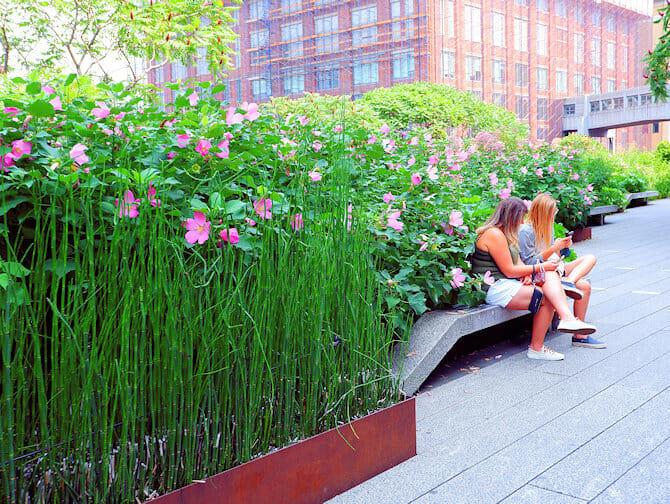 High Line Park a New York - Passeggiata