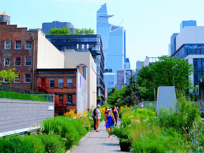 High Line Park a New York