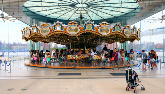 Jane's Carousel a Brooklyn - Il carosello