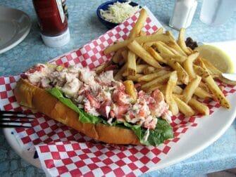 Lobster roll a Boston Un giorno da New York