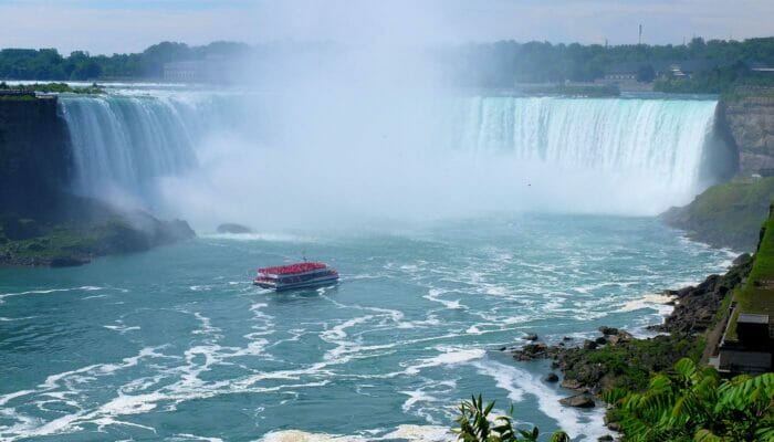Da New York al Canada - Giro in battello