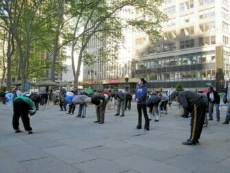 Tai Chi a New York