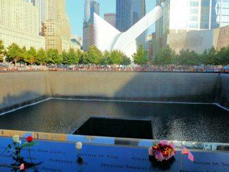 9/11 Memorial a New York - Rose