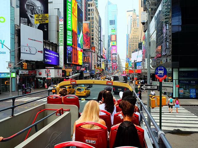 Big Bus a New York - Vista
