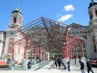 Ellis Island a New York - Entrata del museo