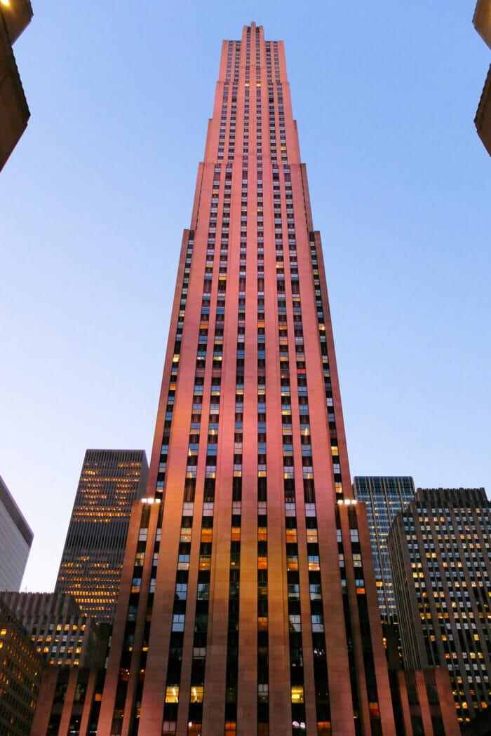 Rockefeller Center di New York - Comcast Building