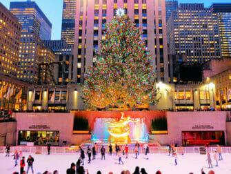 Rockefeller Center di New York - Pista di pattinaggio