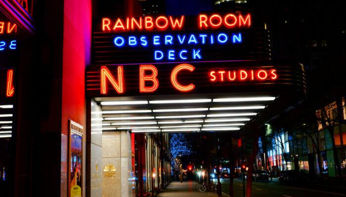 Rockefeller Center di New York - NBC