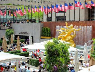 Rockefeller Center di New York - Terrazza