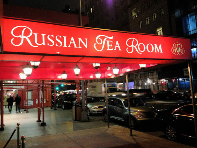 Russian Tea Room New York