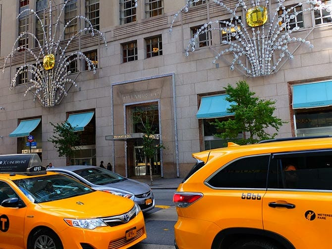 Shopping sulla Fifth Avenue - Tiffany's