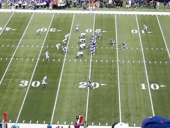 partita football Giants