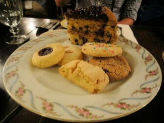 Cookie all'Alices Tea Cup a NYC