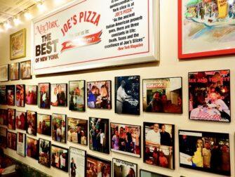 La migliore pizza a New York - Joe's New York